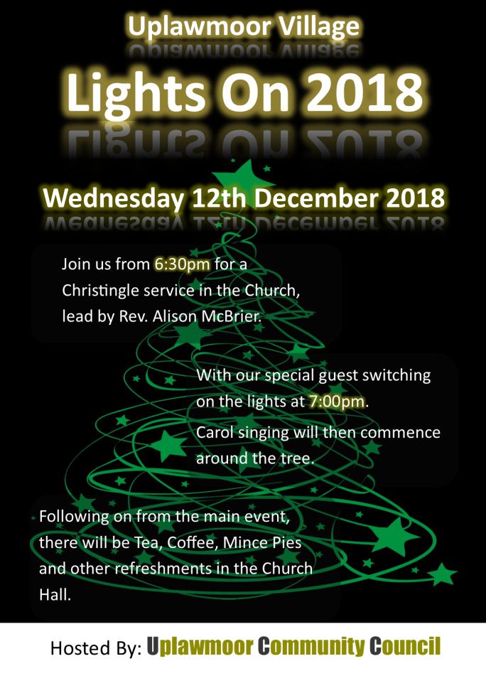 Christmas 2018 Poster PNG